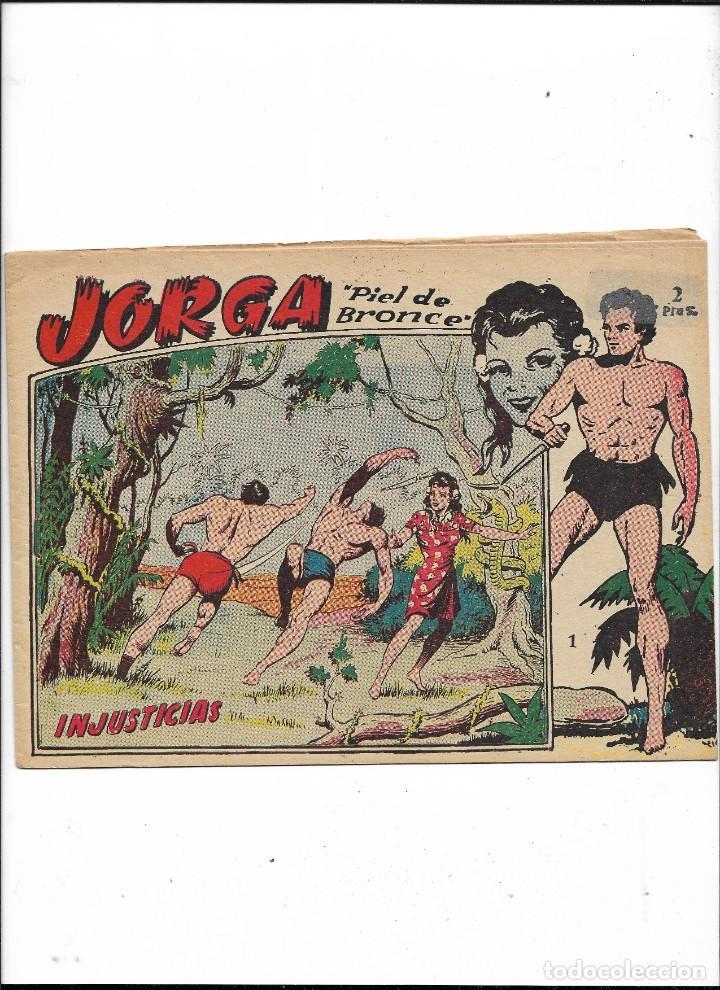 JORGA PIEL DE BRONCE AÑO 1963 COLECCIÓN COMPLETA SON 18 TEBEOS ORIGINALES 2ª EPOCA DIBUJOS FERRANDO (Tebeos y Comics - Ricart - Jorga)