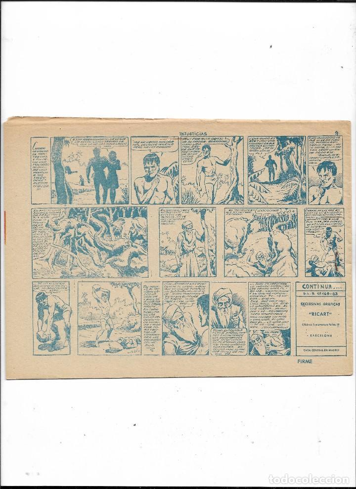 Tebeos: Jorga Piel de Bronce Año 1963 Colección Completa son 18 Tebeos Originales 2ª Epoca Dibujos Ferrando - Foto 2 - 231090220