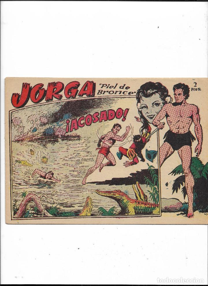 Tebeos: Jorga Piel de Bronce Año 1963 Colección Completa son 18 Tebeos Originales 2ª Epoca Dibujos Ferrando - Foto 5 - 231090220