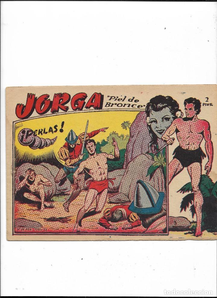 Tebeos: Jorga Piel de Bronce Año 1963 Colección Completa son 18 Tebeos Originales 2ª Epoca Dibujos Ferrando - Foto 6 - 231090220