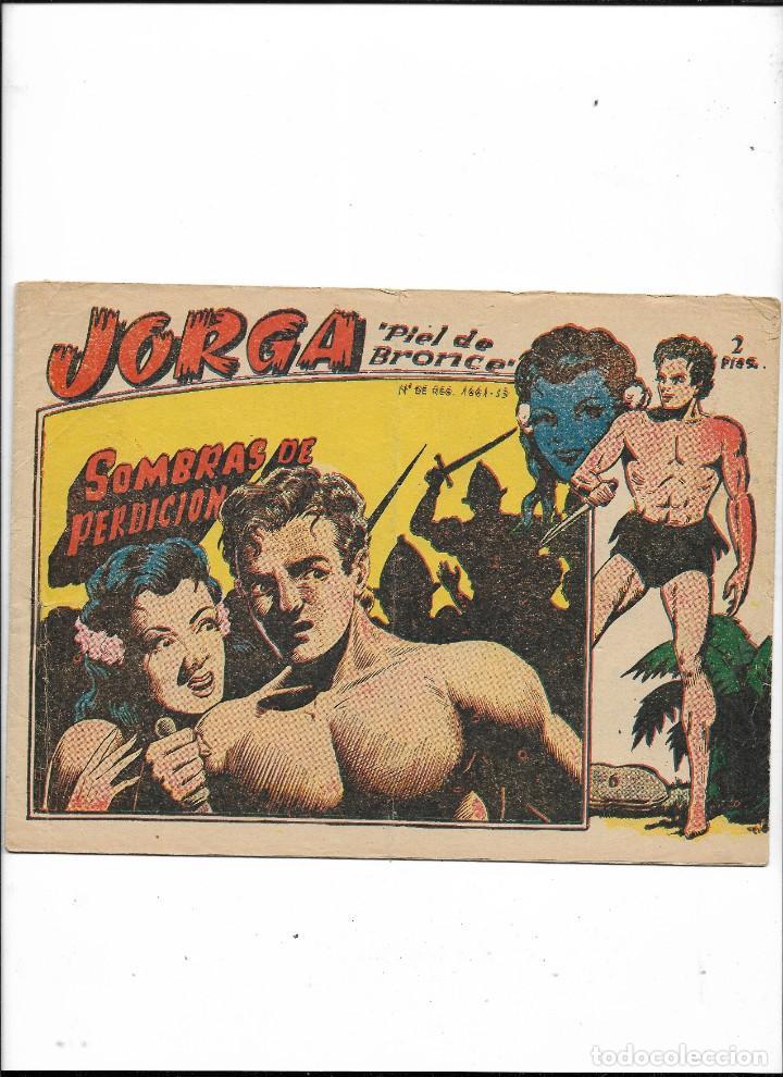 Tebeos: Jorga Piel de Bronce Año 1963 Colección Completa son 18 Tebeos Originales 2ª Epoca Dibujos Ferrando - Foto 7 - 231090220