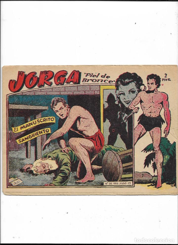 Tebeos: Jorga Piel de Bronce Año 1963 Colección Completa son 18 Tebeos Originales 2ª Epoca Dibujos Ferrando - Foto 8 - 231090220