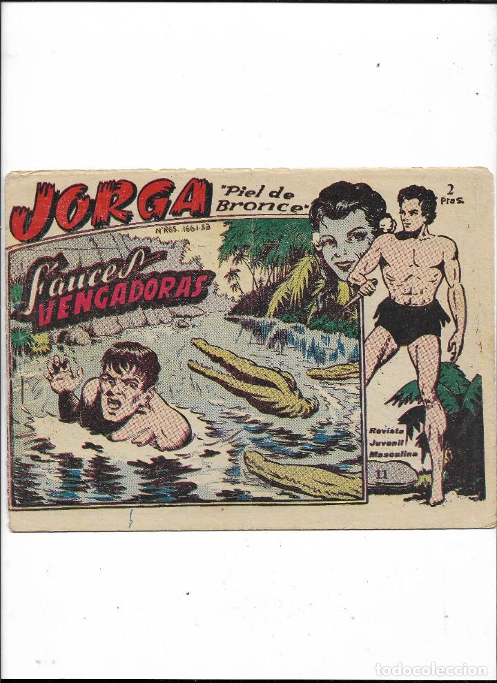 Tebeos: Jorga Piel de Bronce Año 1963 Colección Completa son 18 Tebeos Originales 2ª Epoca Dibujos Ferrando - Foto 12 - 231090220