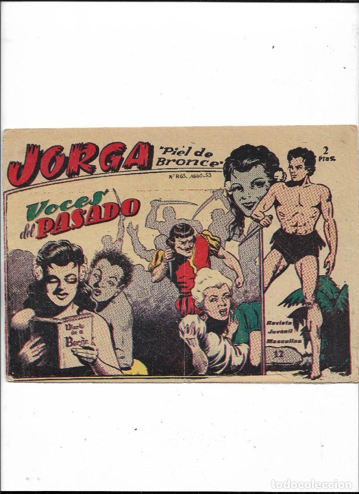 Tebeos: Jorga Piel de Bronce Año 1963 Colección Completa son 18 Tebeos Originales 2ª Epoca Dibujos Ferrando - Foto 13 - 231090220