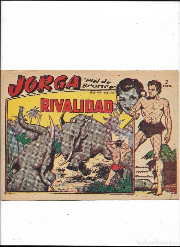 Tebeos: Jorga Piel de Bronce Año 1963 Colección Completa son 18 Tebeos Originales 2ª Epoca Dibujos Ferrando - Foto 14 - 231090220