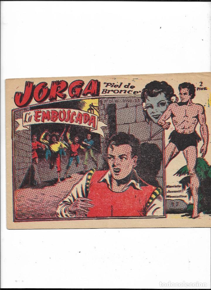 Tebeos: Jorga Piel de Bronce Año 1963 Colección Completa son 18 Tebeos Originales 2ª Epoca Dibujos Ferrando - Foto 18 - 231090220