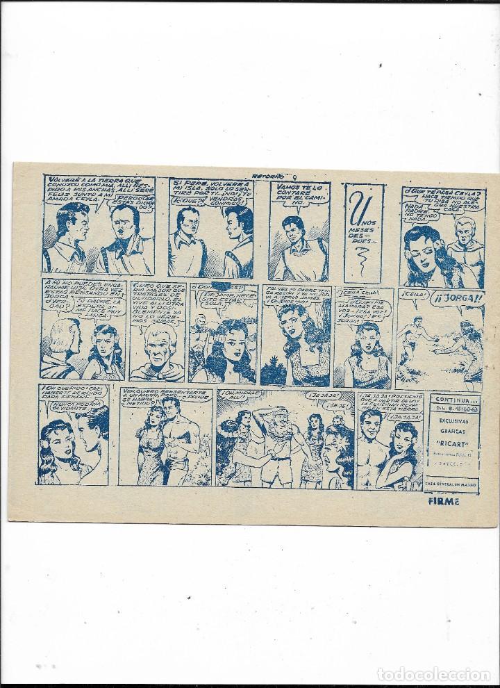 Tebeos: Jorga Piel de Bronce Año 1963 Colección Completa son 18 Tebeos Originales 2ª Epoca Dibujos Ferrando - Foto 20 - 231090220