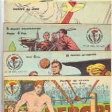 Tebeos: * AVENTURAS DEPORTIVAS * COMPLETA 8 Nº * 2 HISTORIAS/CUADERNO * RICART, 1968 *. Lote 231153175