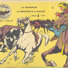 Tebeos: WINCHESTER JIM 9 (DOBLE). RICART, 1963 (CONTIENE LOS NÚMEROS 17 Y 18 PRIMERA EDICIÓN). Lote 231469955