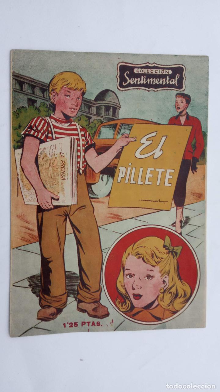 COLECCIÓN SENTIMENTAL Nº 7 - SIN CIRCULAR NI ABRIR - 1953 EDI. RICART (Tebeos y Comics - Ricart - Sentimental)