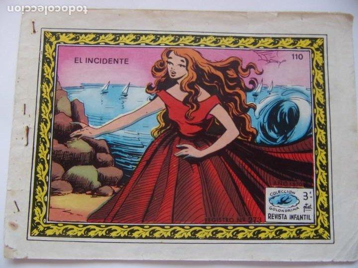 REVISTA INFANTIL GOLONDRINA NÚMERO 110 - EL INCIDENTE- (Tebeos y Comics - Ricart - Golondrina)
