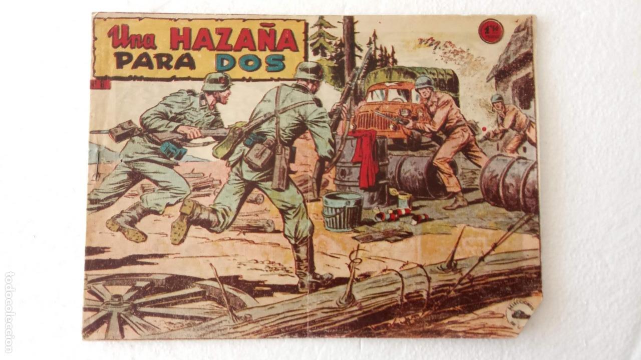 SELECCIONES DE GUERRA 1ª EDICCION EDI RICART 1955 - Nº 8 ORIGINAL (Tebeos y Comics - Ricart - Otros)