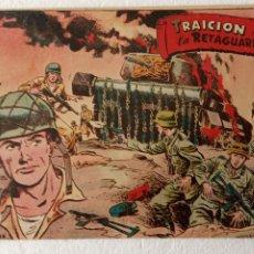 Tebeos: SELECCIONES DE GUERRA 1ª EDICCION EDI RICART 1955 - Nº 1 ORIGINAL, MUY NUEVO. Lote 233761860