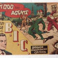 Tebeos: MARTÍN VEGA DE LA B.I.C. Nº 4 BIS, ORIGINAL EDI. RICART 1953. Lote 233766190