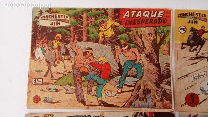Tebeos: WINCHESTER JIM DE 1 PTS RIFLE - - ORIGINALES NºS - 2,4,5,6,8,11,22 RICART 1955 - Foto 3 - 234319635