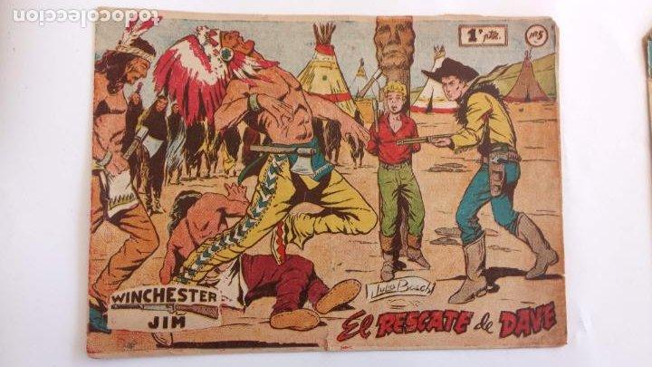 Tebeos: WINCHESTER JIM DE 1 PTS RIFLE - - ORIGINALES NºS - 2,4,5,6,8,11,22 RICART 1955 - Foto 4 - 234319635