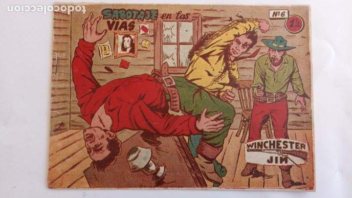 Tebeos: WINCHESTER JIM DE 1 PTS RIFLE - - ORIGINALES NºS - 2,4,5,6,8,11,22 RICART 1955 - Foto 5 - 234319635