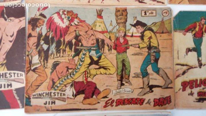 Tebeos: WINCHESTER JIM DE 1 PTS RIFLE - - ORIGINALES NºS - 2,4,5,6,8,11,22 RICART 1955 - Foto 9 - 234319635