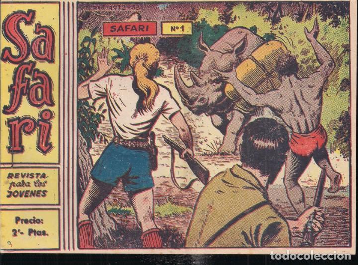 SAFARI APAISADA SUELTA COMPLETA Y ORIGINAL VER FOTOS (Tebeos y Comics - Ricart - Safari)