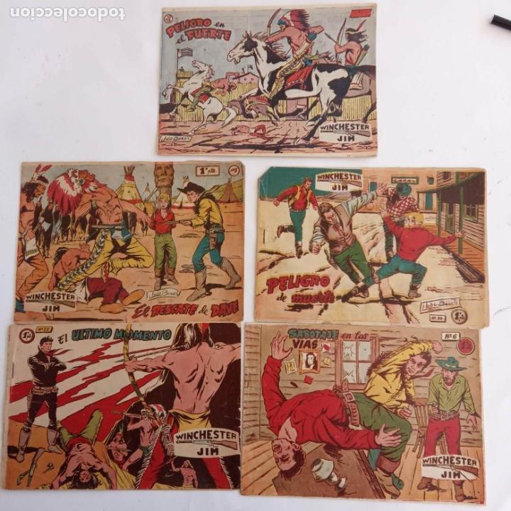 Tebeos: WINCHESTER JIM DE 1 PTS RIFLE - - ORIGINALES NºS - 2,4,5,6,8,11,22 RICART 1955 - Foto 10 - 234319635