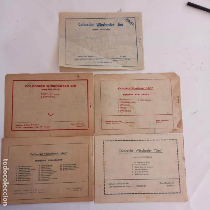 Tebeos: WINCHESTER JIM DE 1 PTS RIFLE - - ORIGINALES NºS - 2,4,5,6,8,11,22 RICART 1955 - Foto 11 - 234319635