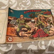Tebeos: EPISODIOS DE COREA ALMANAQUE 1956 - RICART. Lote 235797185