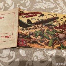 Tebeos: EPISODIOS DE COREA Nº 7 LA AMETRALLADORA DEL DIABLO - RICART 1955. Lote 235799600