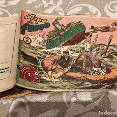 Tebeos: EPISODIOS DE COREA Nº 8 ASPA DE FUEGO - RICART 1955. Lote 235800150