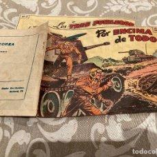 Tebeos: EPISODIOS DE COREA Nº 10 POR ENCIMA DE TODO - RICART 1955. Lote 235801865