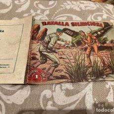 Tebeos: EPISODIOS DE COREA Nº 14 BATALLA SILENCIOSA - RICART 1955. Lote 235805050