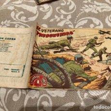 Tebeos: EPISODIOS DE COREA Nº 16 EL VETERANO TRES GUERRAS - RICART 1955. Lote 235805655