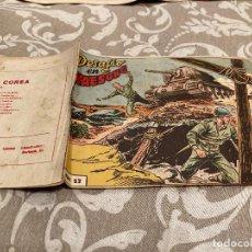 Tebeos: EPISODIOS DE COREA Nº 17 DESAFIO EN KAESONG - RICART 1955. Lote 235806305