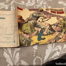 Tebeos: EPISODIOS DE COREA Nº 28 EL COLOMBIANO MIL BALAS - RICART 1955. Lote 235812630