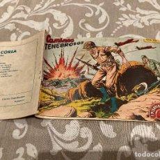 Tebeos: EPISODIOS DE COREA Nº 30 CAMINOS TENEBROSOS - RICART 1955. Lote 235813450