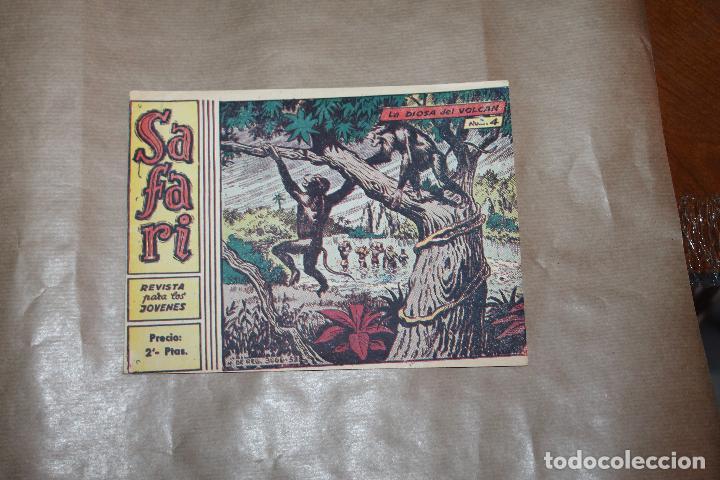 SAFARI Nº 4, EDITORIAL RICART (Tebeos y Comics - Ricart - Safari)
