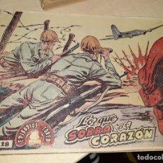 Tebeos: TEBEO EPISODIOS DE COREA Nº 18.RICART 1955.. Lote 236900020