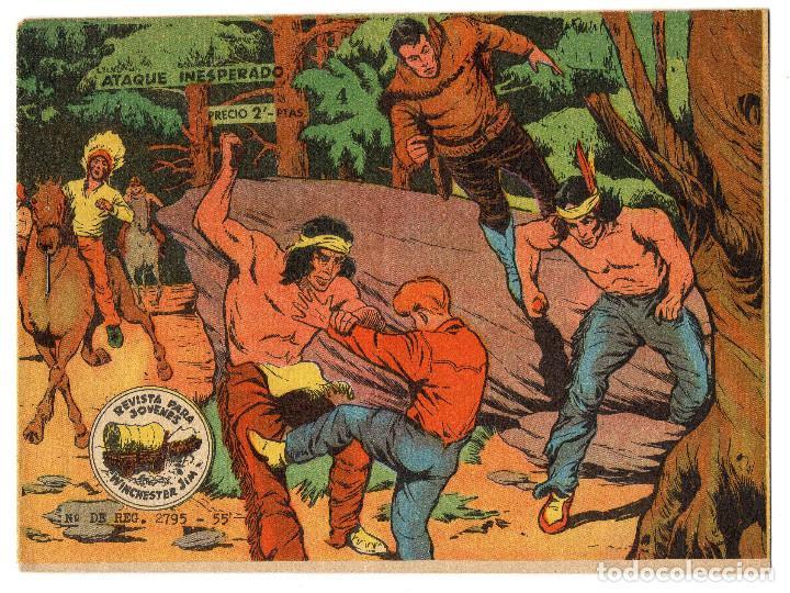 WINCHESTER JIM Nº 4 (RICART 1963) (Tebeos y Comics - Ricart - Otros)