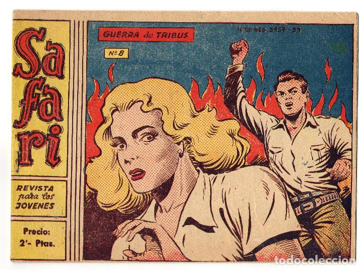 SAFARI Nº 8 (RICART 1965) (Tebeos y Comics - Ricart - Safari)