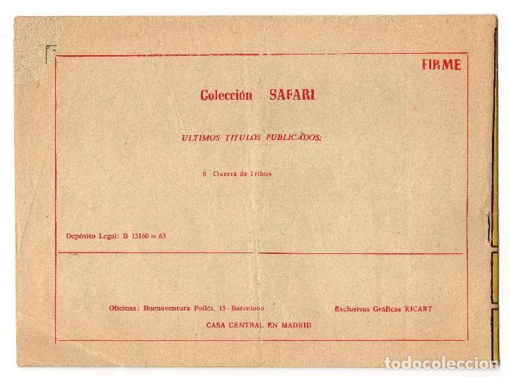 Tebeos: SAFARI nº 8 (Ricart 1965) - Foto 2 - 243328935