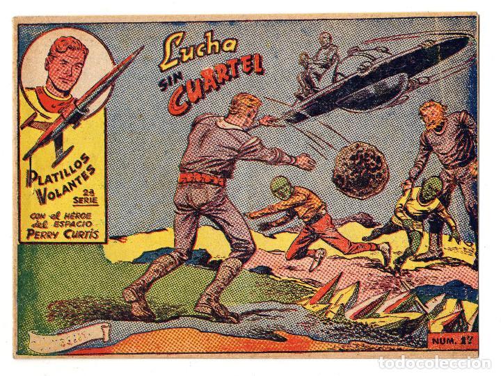 PLATILLOS VOLANTES Nº 17 (RICART 2ª SERIE 1963) (Tebeos y Comics - Ricart - Otros)