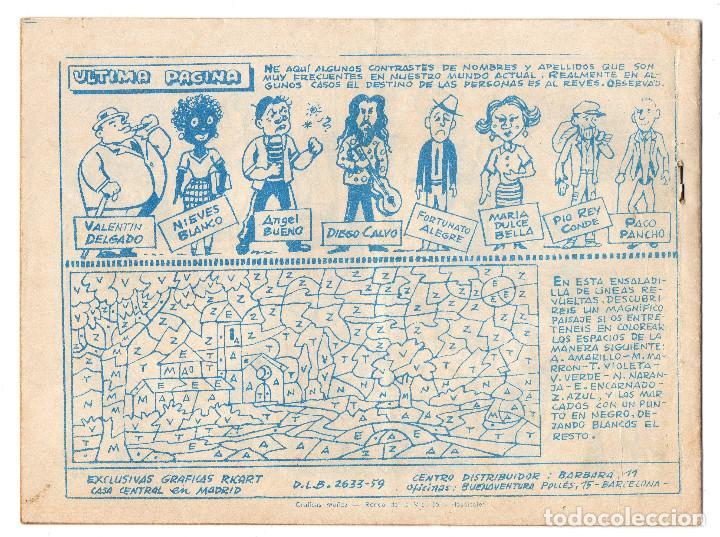 Tebeos: GARDENIA AZUL nº 175 (Ricart 1968) - Foto 2 - 243343750