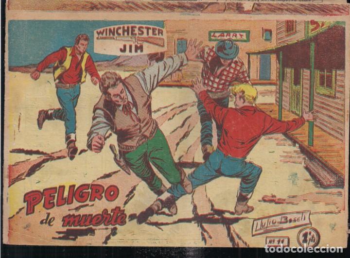 WINCHESTER JIM Nº 11: PELIGRO DE MUERTE. 1 PTA. (Tebeos y Comics - Ricart - Otros)