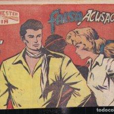 Tebeos: WINCHESTER JIM Nº 16: FALSA ACUSACIÓN. 2 PTA. CONTRAPORTADA CON TÍTULOS PUBLICADOS. Lote 244558270
