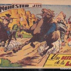 Tebeos: WINCHESTER JIM Nº 1: UN DEFENSOR DE LA LEY. 2 PTA. CONTRAPORTADA CON VIÑETAS. Lote 244709930