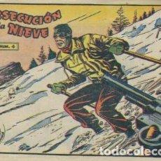 Tebeos: AVENTURAS DEPORTIVAS- II ÉPOCA- Nº 4 -PERSECUCIÓN EN LA NIEVE-1963-DEL ÁRBOL-CORRECTO-DIFICIL-4383. Lote 246169135