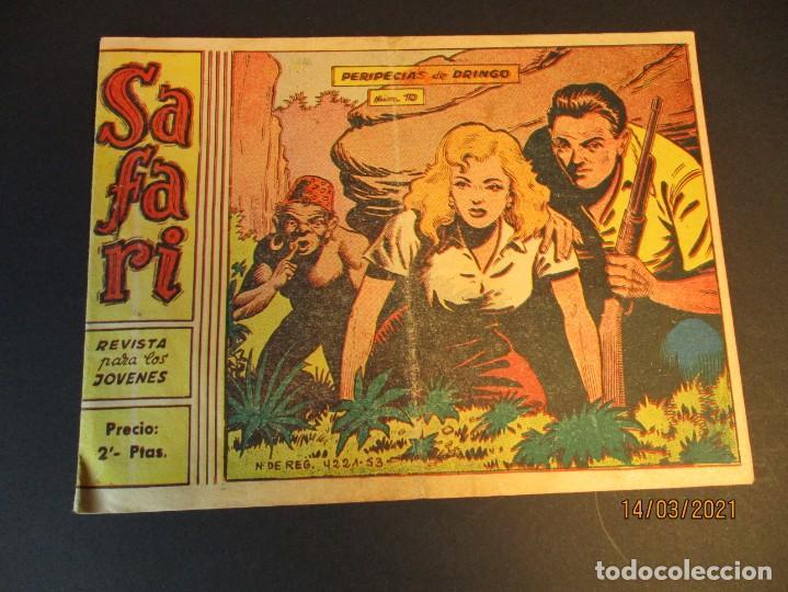 SAFARI (1965, RICART) 10 · 7-IV-1965 · PERIPECIAS DE DRINGO (Tebeos y Comics - Ricart - Safari)