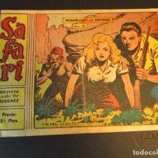 Tebeos: SAFARI (1965, RICART) 10 · 7-IV-1965 · PERIPECIAS DE DRINGO. Lote 247785370