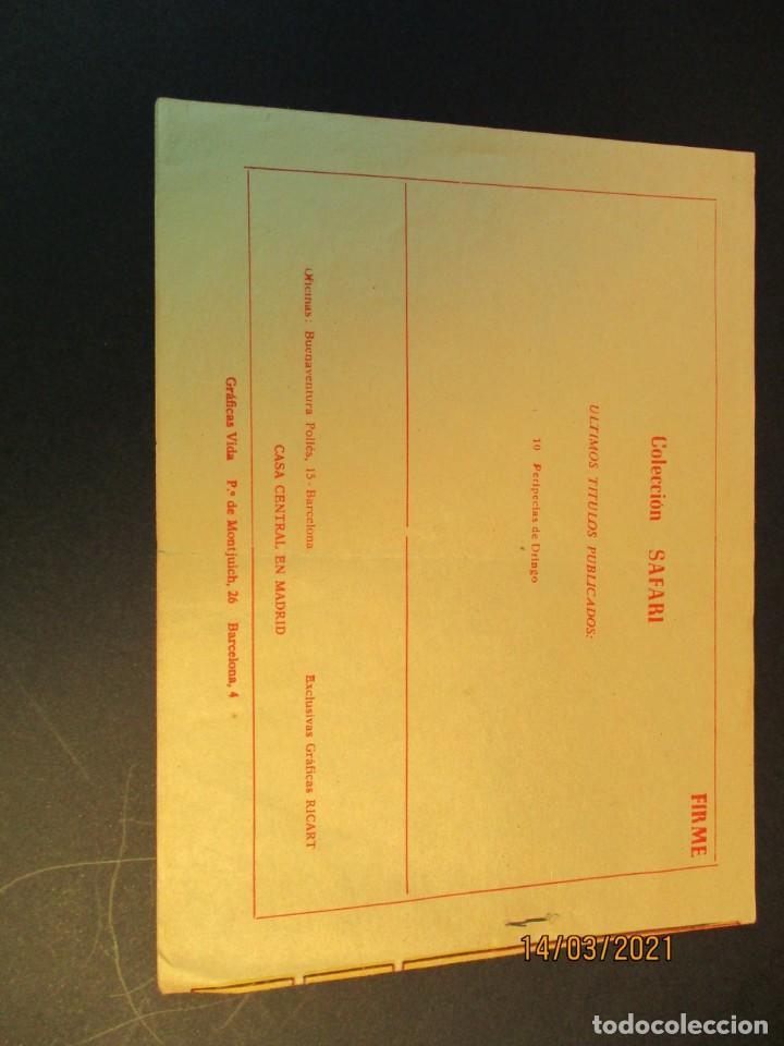Tebeos: SAFARI (1965, RICART) 10 · 7-IV-1965 · PERIPECIAS DE DRINGO - Foto 3 - 247785370