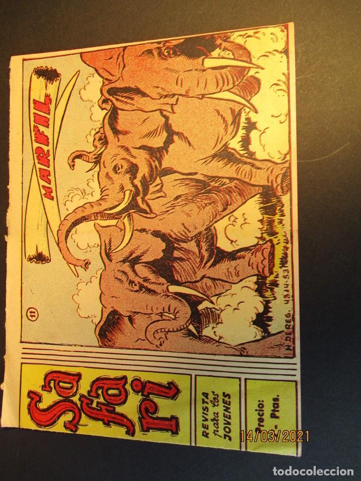 SAFARI (1965, RICART) 11 · 14-IV-1965 · MARFIL (Tebeos y Comics - Ricart - Safari)