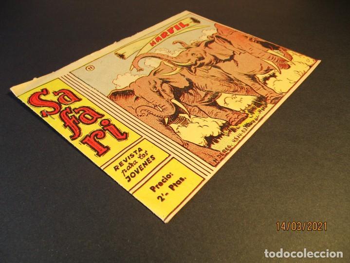 Tebeos: SAFARI (1965, RICART) 11 · 14-IV-1965 · MARFIL - Foto 2 - 247785740
